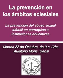 La prevención enlos ámbitos eclesiales