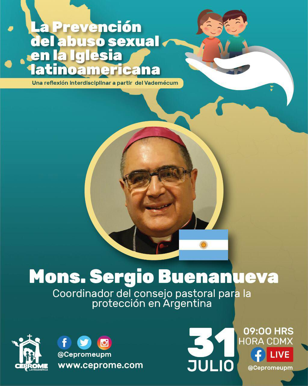 Participación de Mons. Sergio Buenanueva en el ciclo del CEPROME