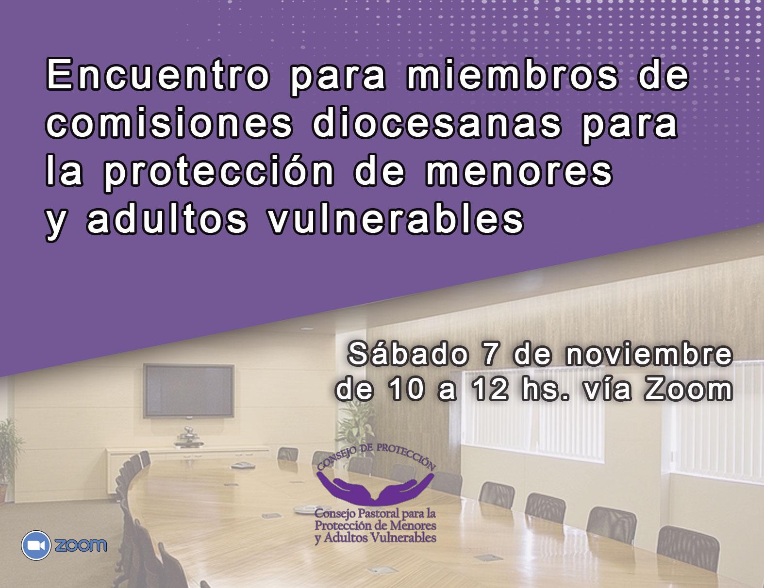 Encuentro para miembros de comisiones diocesanas para la protección de menores y adultos vulnerables
