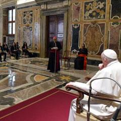 Discurso del Santo Padre Francisco a los miembros de la asociación METER