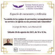 Encuentro - Conversatorio junto a Monseñor Luís Manuel Alí.